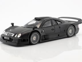 Mercedes-Benz CLK-GTR matt schwarz 1:18 Maisto