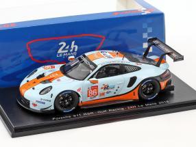 Porsche 911 (991 II) RSR #86 24h LeMans 2018 Wainwright, Barker, Davison