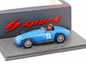 Hernando da Silva Ramos Gordini T32 #32 France GP formula 1 1956 1:43 Spark