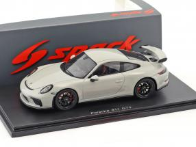 Porsche 911 (991 II) GT3 RS Coupe year 2018 light gray 1:43 Spark