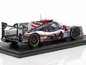 Ligier JS P217 #32 24h LeMans 2018 De Sadeleer, Owen, Montoya