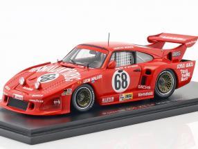 Porsche 935 K3 #68 24h LeMans 1980 McKitterick, Mendez, Walger 1:43 Spark