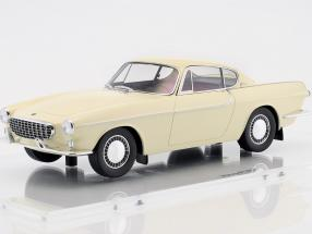 Volvo 1800 built in 1961 cream white 1:18 DNA Collectibles