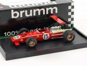 Chris Amon Ferrari 312 F1 #15 Spanien GP Formel 1 1969 1:43 Brumm