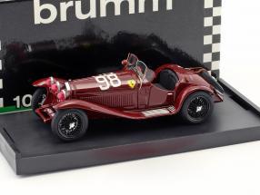 Alfa Romeo 8C 2300 #98 Winner Mille Miglia 1933 Nuvolari, Compagnoni 1:43 Brumm