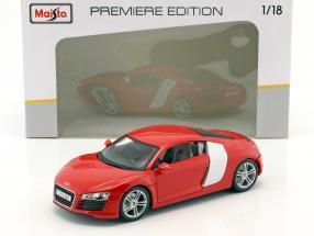 Audi R8 red 1:18 Maisto