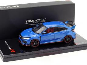 Honda Civic Type R RHD year 2017 aegean blue metallic 1:43 TrueScale