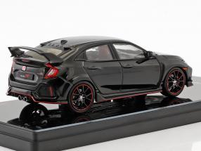 Honda Civic Typ R LHD Baujahr 2017 crystal black pearl