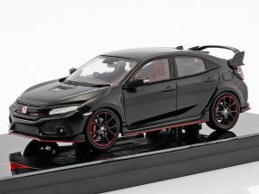 Honda Civic Type R RHD Construction year 2017 crystal black pearl 1:43 TrueScale