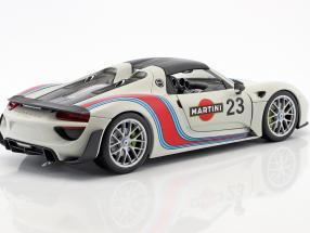 Porsche 918 Spyder #23 Martini Design weiß / rot / blau