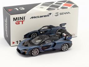 McLaren Senna LHD victory grau 1:64 TrueScale