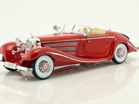 Mercedes-Benz 500 K Typ Specialroadster rot  Bj. 1936 1:18 Maisto