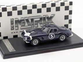 Ferrari 250 GT Passo Corto #5 Winner Nassau Tourist Trophy 1960 Stirling Moss 1:43 Matrix