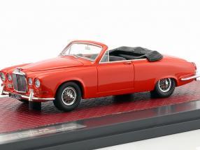 Jaguar 420 Harold Radford Convertible Baujahr 1967 rot 1:43 Matrix