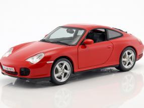 Porsche 911 (996) Coupé Carrera 4S indisch rot 1:18 Maisto