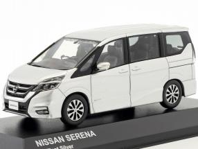 Nissan Serena C27 year 2016 brilliant silver 1:43 Kyosho