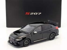 Subaru S207 NBR Challenge Package year 2015 black 1:18 SunStar