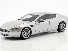 Aston Martin Rapide Baujahr 2010 silber 1:18 AUTOart