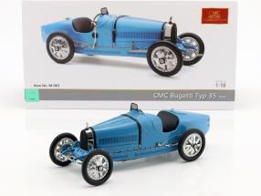 Bugatti Type 35 Grand Prix race version 1924 light blue 1:18 CMC