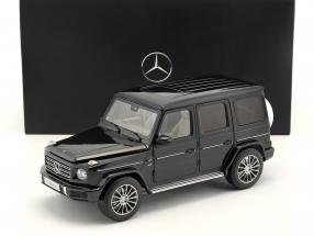 Mercedes-Benz G-Class (W463) year 2018 emerald green 1:18 Minichamps