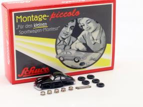Porsche 356 Coupe Construction Kit for the little Sports car mechanic 1:90 Schuco Piccolo