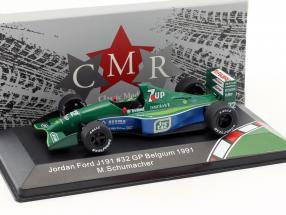 Michael Schumacher Jordan Ford 191 #32 F1 Debut Belgium GP formula 1 1991 1:43 CMR