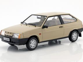 Lada Samara year 1984 tan 1:18 KK-Scale