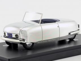 Hewson Rocket year 1946 silver 1:43 AutoCult