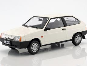Lada Samara year 1984 white 1:18 KK-Scale