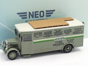 NAG Büssing Race Truck Auto Union green / white 1:43 Neo