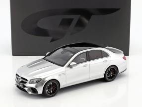 Mercedes-Benz AMG E 63 S 4MATIC+  year 2017 iridium silber 1:18 GT Spirit