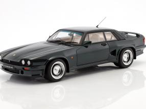 Lister Jaguar XJS 7.0 LeMans Coupe year 1988 british racing green 1:18 GT-Spirit