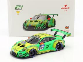 Porsche 911 (991) GT3 R #912 Winner 24h Nürburgring 2018 Manthey Racing 1:18 Spark