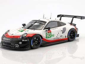 Porsche 911 (991) RSR #93 24h LeMans 2018 Porsche GT Team 1:18 Spark
