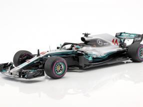 Lewis Hamilton Mercedes-AMG F1 W09 EQ Power  #44 Winner Azerbaijan GP formula 1 2018 1:18 Spark
