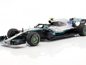 Valtteri Bottas Mercedes-AMG F1 W09 EQ Power  #77 2nd Chinese GP formula 1 2018 1:18 Spark