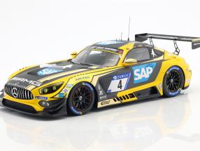 Mercedes-AMG GT3 #4 2nd 24h Nürburgring 2018 Team Black Falcon 1:18 Spark