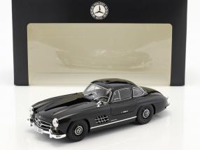 Mercedes-Benz 300 SL Gullwing (W 198) year 1954 black 1:18 Minichamps