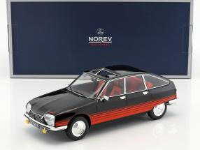 Citroen GS Basalte year 1978 black / red 1:18 Norev