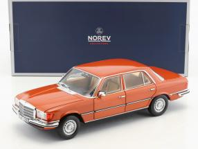 Mercedes-Benz 450 SEL 6.9 year 1976 orange metallic 1:18 Norev
