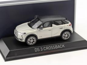 Citroen DS 3 Crossback E-Tense year 2019 silver metallic / black 1:43 Norev