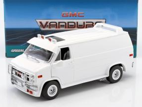 GMC Vandura year 1983 white 1:18 Greenlight