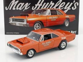 Dodge Hemi Dart Max Hurley year 1968 orange 1:18 GMP