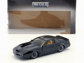Pontiac Firebird K.I.T.T. TV series Knight Rider (1982-1986) black 1:24 Jada Toys