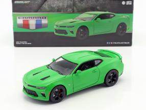 Chevrolet Camaro SS year 2017 krypton green 1:24 Greenlight