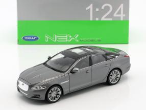 Jaguar XJ (X351) year 2010 silver metallic 1:24 Welly