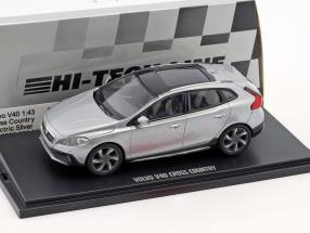 Volvo V40 Cross Country year 2017 electric silver 1:43 MotorArt