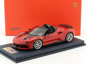 Ferrari J50 Roadster year 2016 rosso tristrato with showcase 1:18 LookSmart