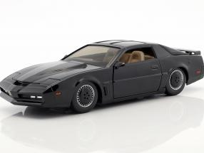 Pontiac Firebird K.I.T.T TV series Knight Rider (1982-1986) black 1:24 Jada Toys