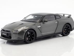 Nissan GTR R-35 year 2008 dark gray metallic 1:18 Norev